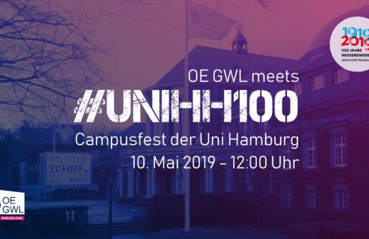 Campusfest der Universität Hamburg – #unihh100